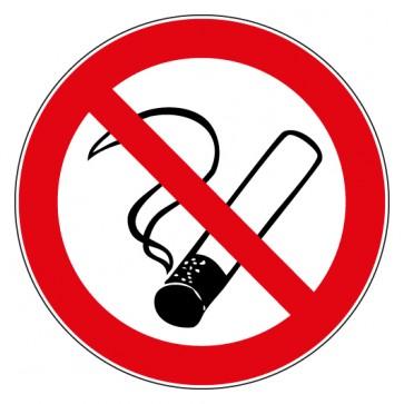 Aufkleber Verbotszeichen Rauchen verboten / Rauchverbot
