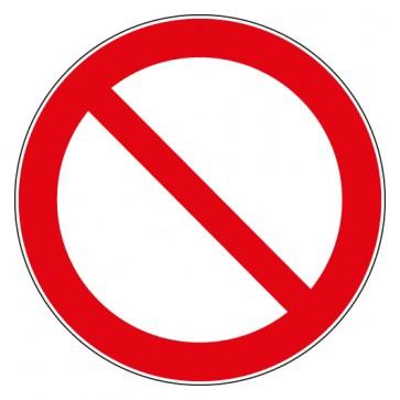Verbotsschild Allgemeines Verbotszeichen