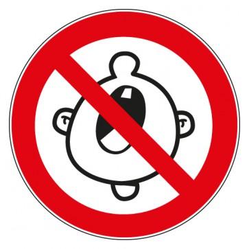 Verbotsschild Ruhe bitte Schreien Lärmen verboten