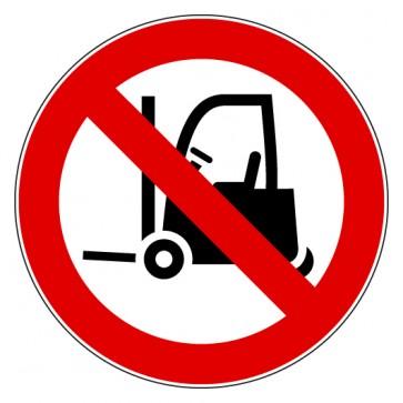 Verbotsschild Für Flurförderfahrzeuge verboten