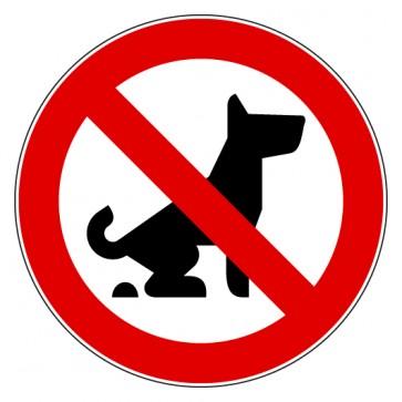 Aufkleber Verbotszeichen Kein Hundeklo Koten verboten
