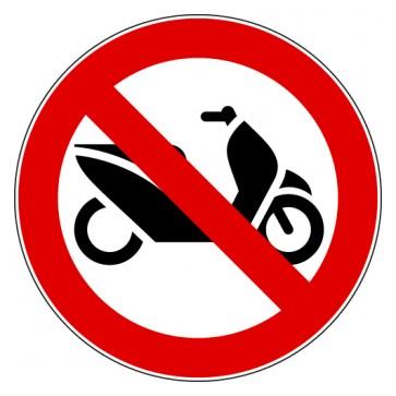Aufkleber Verbotszeichen Roller Mofa Moped verboten