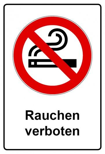 Kombi Aufkleber Rauchen verboten