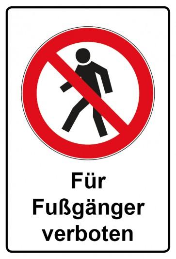Kombi Aufkleber Für Fußgänger verboten
