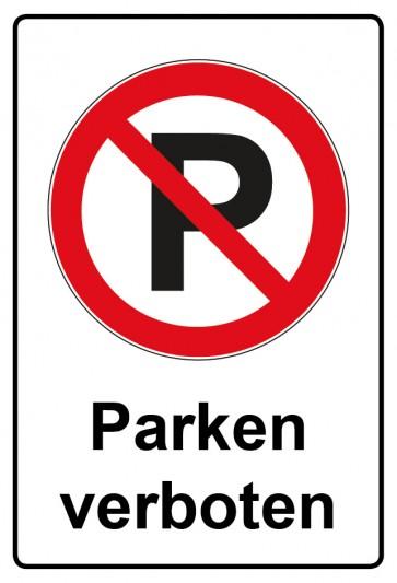 Kombi Aufkleber Parken verboten