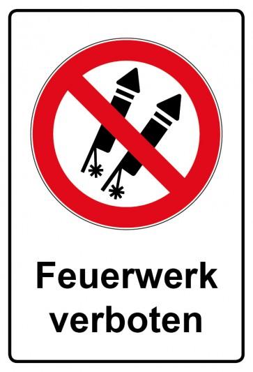 Kombi Aufkleber Feuerwerk verboten