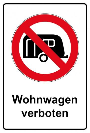 Kombi Aufkleber Wohnwagen verboten