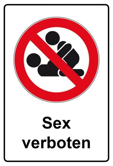 Kombi Aufkleber Sex verboten