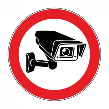 Aufkleber Videoüberwachung TYP 1