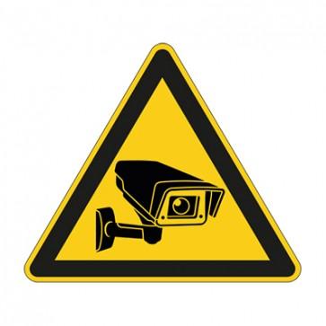 Aufkleber Videoüberwachung TYP 31