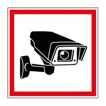 Aufkleber Videoüberwachung TYP 41