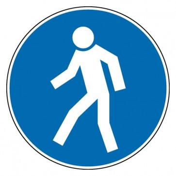 Aufkleber Für Fußgänger