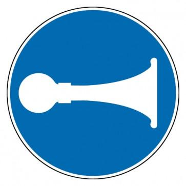 Aufkleber Signalhorn Hupen