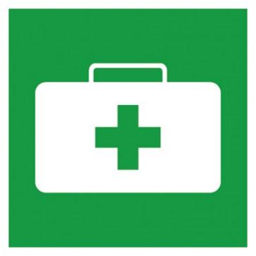Aufkleber Rettungszeichen Notfallkoffer, Sanitätskoffer