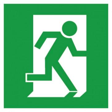Aufkleber Rettungszeichen Fluchtweg Notausgang Fluchtrichtung rechts