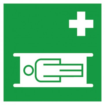 Aufkleber Nottrage Krankentrage