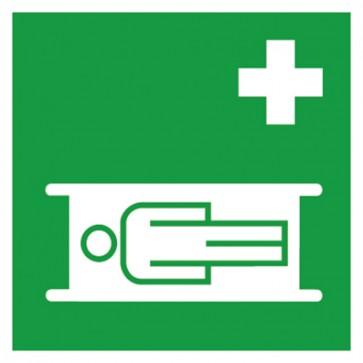 Aufkleber Rettungszeichen Nottrage Krankentrage