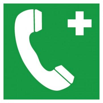 Aufkleber Notruftelefon Notruf