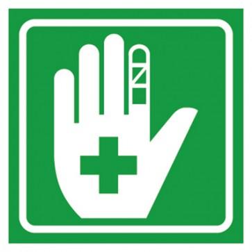 Aufkleber Rettungszeichen Erste Hilfe Verbandsachen
