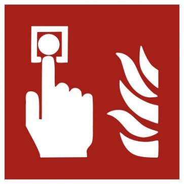 Aufkleber Brandschutz Brandmelder ISO7010