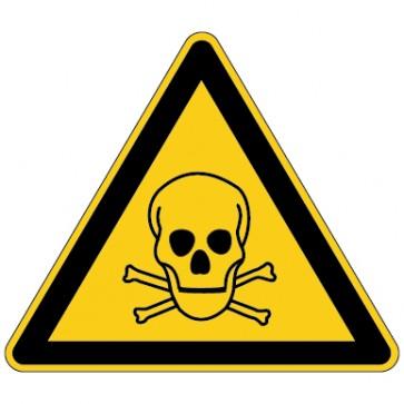 Aufkleber Warnung vor giftigen Stoffen