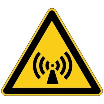 Aufkleber Warnung vor nicht ionisierender Strahlung