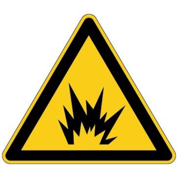 Warnschild Warnung vor Lichtbogenentladung