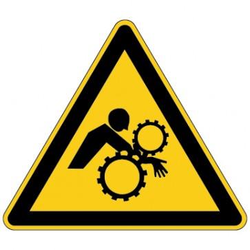 Aufkleber Warnung vor ungewollten Einzug