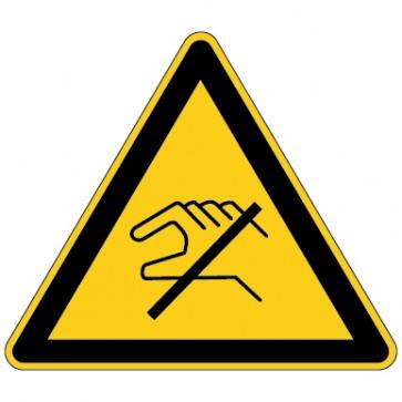 Aufkleber Warnung vor elektrostatisch gefährdete Bauteile