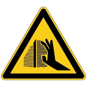 Warnschild Warnung vor Verbrennungsgefahr