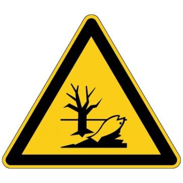 Aufkleber Warnung vor umweltgefährdenden  Stoffen