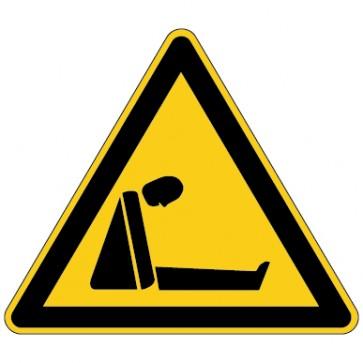 Warnschild Warnung vor Erstickungsgefahr