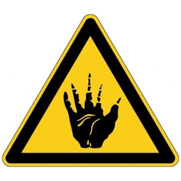 Warnschild Warnung vor Ätzenden Stoffen