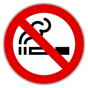 Aufkleber Verbotszeichen Rauchen verboten