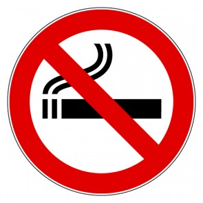 Aufkleber Rauchen verboten