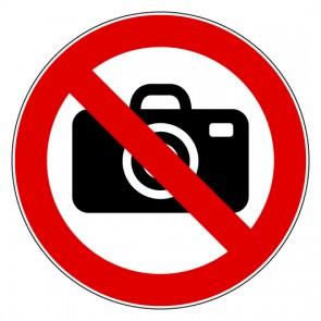 Aufkleber Verbotszeichen Fotografieren verboten