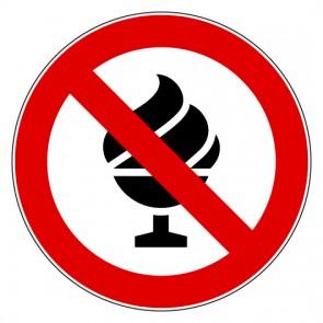 Aufkleber Verbotszeichen Eis essen verboten