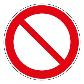 Schild Verbotszeichen Allgemeines Verbotszeichen · ISO 7010 P001