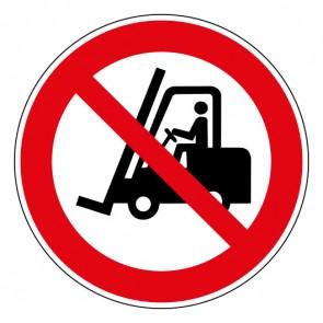 Schild Verbotszeichen Für Flurförderzeuge verboten · ISO 7010 P006