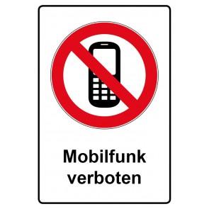 Kombi Aufkleber Mobilfunk verboten