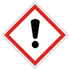 GHS Aufkleber Ausrufezeichen