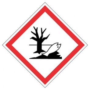 GHS Aufkleber Umwelt, umweltgefährdend
