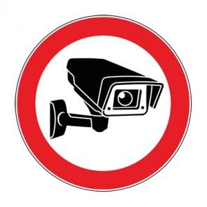 Schild Videoüberwachung TYP 1