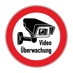 Aufkleber Videoüberwachung TYP 3