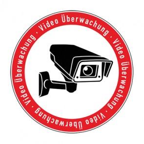 Schild Videoüberwachung TYP 5