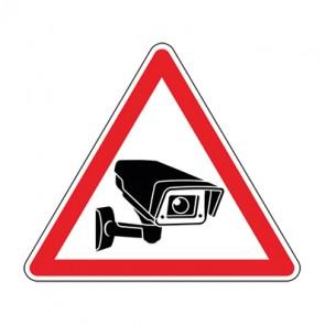 Aufkleber Videoüberwachung TYP 21