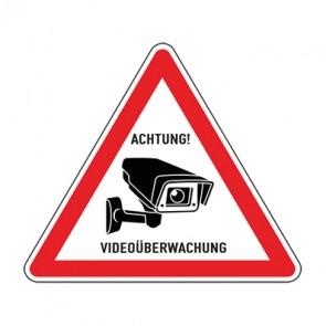 Hinweiszeichen Videoüberwachung TYP 23 · MAGNETSCHILD
