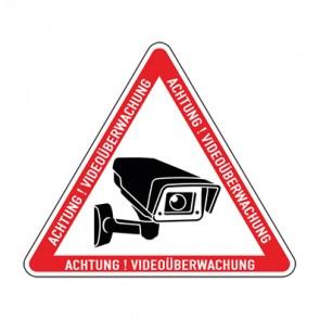 Aufkleber Videoüberwachung TYP 25