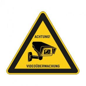 Aufkleber Videoüberwachung TYP 33