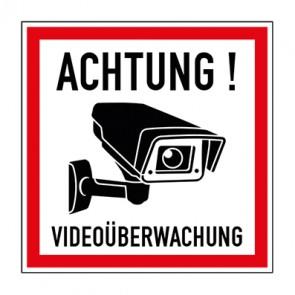 Schild Videoüberwachung TYP 43
